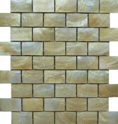 Мозаика (25x28.5) MOPR-GO-B25 Gold Lip B253*4,8 - Rilievi