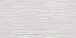 Плитка (40x80) 8DWG 3D Wave White Glossy - 3D Wall