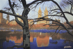 Декор (63.8x96.3) 24186- Landscapes Central Park - Steve Kaufman