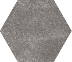 Плитка (17.5x20) 22094 Cement Black - Hexatile Cement