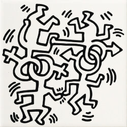 Декор (20x20) GFKHD02L - Game Of Fifteen: Keith Haring