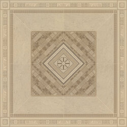 Декор (160x160) 02611740 ROSONE BEIGE/ORO - Greek