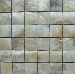 Мозаика (30x30) MOPR-CR-A30 Cream Shell A304,8*4,8 - Rilievi