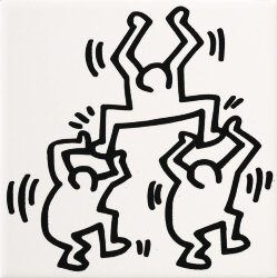 Декор (20x20) GFKHD03L - Game Of Fifteen: Keith Haring