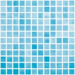 Мозаика 31,5x31,5 Colors Antislip Azul Turquesa 501А