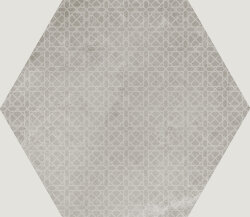 Плитка 29,2x25,4 Urban Hexagon Melange Silver 23603