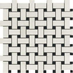 Мозаика (30x30) Muse Calacatta basketweave polished - Muse