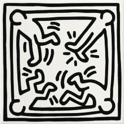 Декор (20x20) GFKHD05L - Game Of Fifteen: Keith Haring