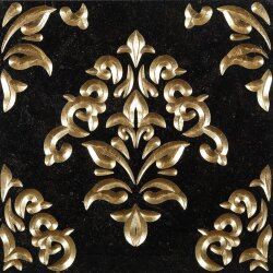 Декор (60x60) Luxury6PierreBleueGold - Luxury