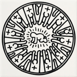 Декор (20x20) GFKHD07L - Game Of Fifteen: Keith Haring