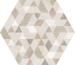 Плитка 29,2x25,4 Urban Hexagon Forest Natural 23618