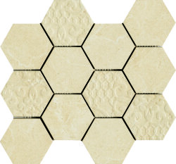 Мозаика (30x30) Muse Marfil polished hexagon - Muse