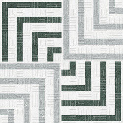 Декор (15x15) 22741 Area15 concentric grey Eq-5 - Area15