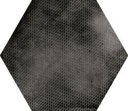 Плитка 29,2x25,4 Urban Hexagon Melange Dark 23604