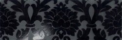 Декор (24x72) 77007- Decorovelvet(A+B)Black - New Baroque