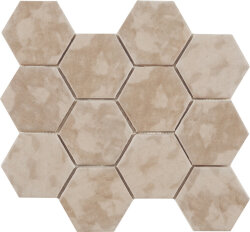 Мозаика (23.2x26.4) Malla Panal Hexagon Beige 23,2 x 26,4 - Panal Hexagon