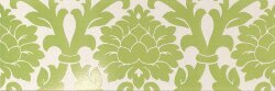 Декор (24x72) 77009- Decorovelvet(A+B)White/Green - New Baroque