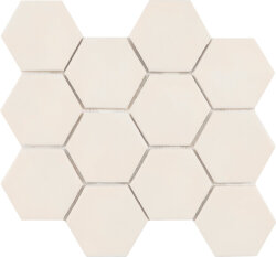 Мозаика (23.2x26.4) Malla Panal Hexagon Crema 23,2 x 26,4 - Panal Hexagon