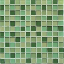 Мозаика (30x30) 03300027 Green Frost Mix - Crystal-C