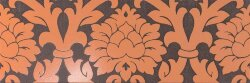 Декор (24x72) 77010- Decorovelvet(A+B)Moka/Orange - New Baroque
