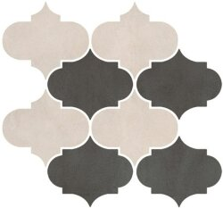 Декор (41.5x40.8) 0162801 MOON WHITE SATURN DARK GREY COLOR MIX