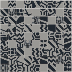 "Мозаика (23.7x23.7) 149022 Mosaico Mix""2""Black/Grey Rect - Moodboard"