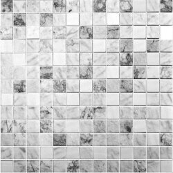 Мозаика (31.1x31.1) 2002692 Essence Carrara Mix Grey - Essence