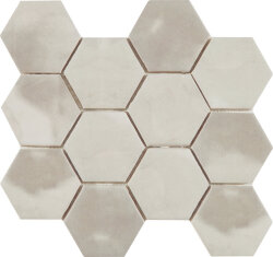 Мозаика (23.2x26.4) Malla Panal Hexagon Gris 23,2 x 26,4 - Panal Hexagon
