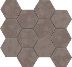 Мозаика (23.2x26.4) Malla Panal Hexagon Marron 23,2 x 26,4 - Panal Hexagon