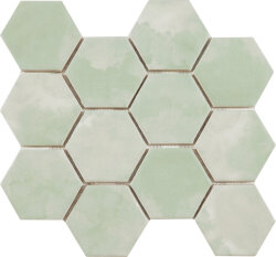 Мозаика (23.2x26.4) Malla Panal Hexagon Verde 23,2 x 26,4 - Panal Hexagon