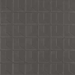 Мозаика (31.6x31.6) KGNUM45 Numini Cliff (Dark Grey) - Numi
