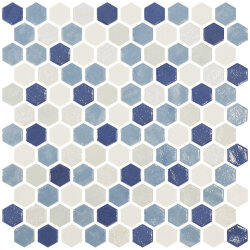Мозаика (30.1x29) 2003523 HexBlendAzure - Hexagon Blends
