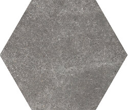 Плитка 17,5x20 Hexatile Cement Black 22094