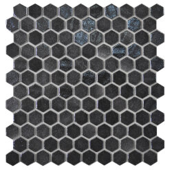Мозаика (31.9x29) 2002919 HexBlendBlack - Hexagon Blends