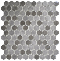 Мозаика (31.9x29) 2002920 HexBlendTaupe - Hexagon Blends
