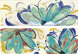 Декор (20x60) FLOWERS SEA MIX - Shades