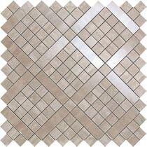 Мозаїка (30,5x30,5) 9MVB MARVEL PRO TRAVERTINO SILVER DIAGONAL MOS.