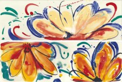 Декор (20x60) FLOWERS SUN MIX - Shades