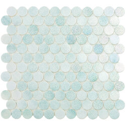 Мозаика 30,1x31,3 Crystal Mint Circle 573C