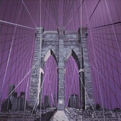 Декор (95.7x96.3) 24143- Decorobrooklynbridge(Set3pz) - The Factory