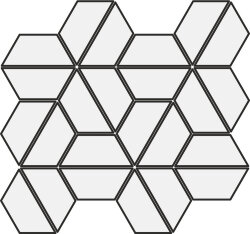 Мозаика (24x28) CSAHHSDA28 HexagonHighst.Dark - Highstone