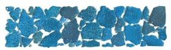 Бордюр (5x20) BKL2-M-BO Brook Listello Piccolo Mineral Blu Oceano Lucido - Brook